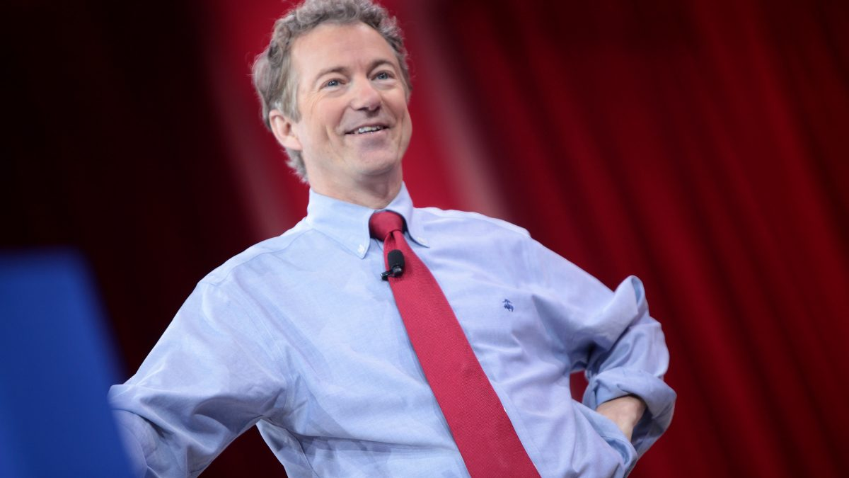 Rand Stands STRONG Against Government Waste