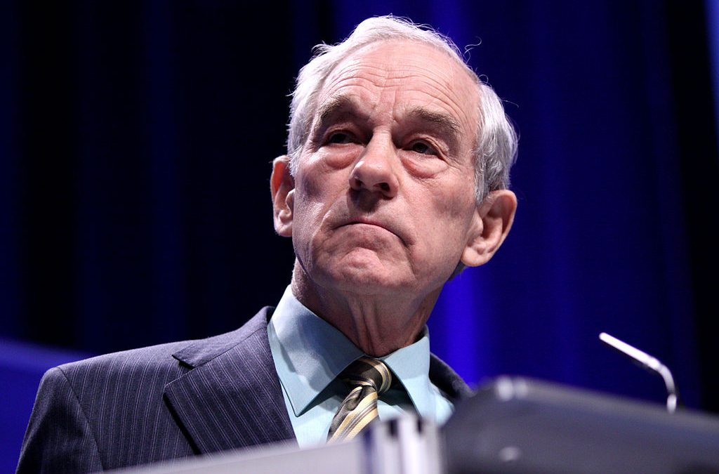 Ron Paul Makes Major Shift on Crypto