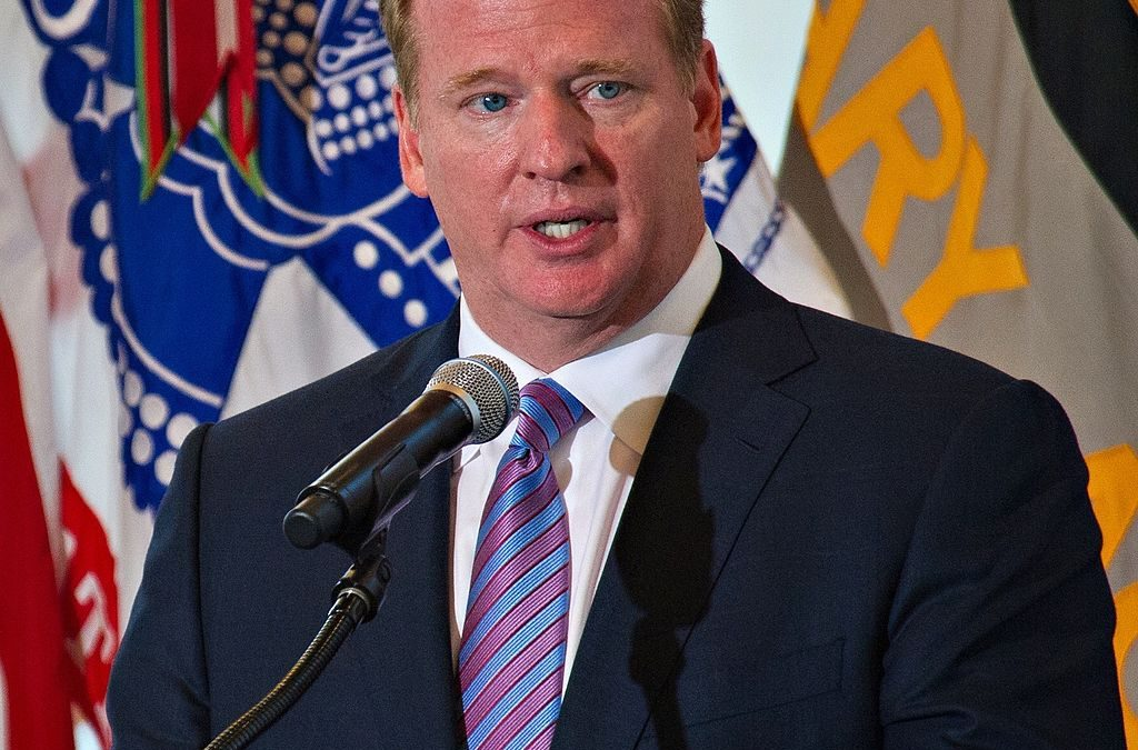 NFL Commissioner Takes On Criminal Justice Reform