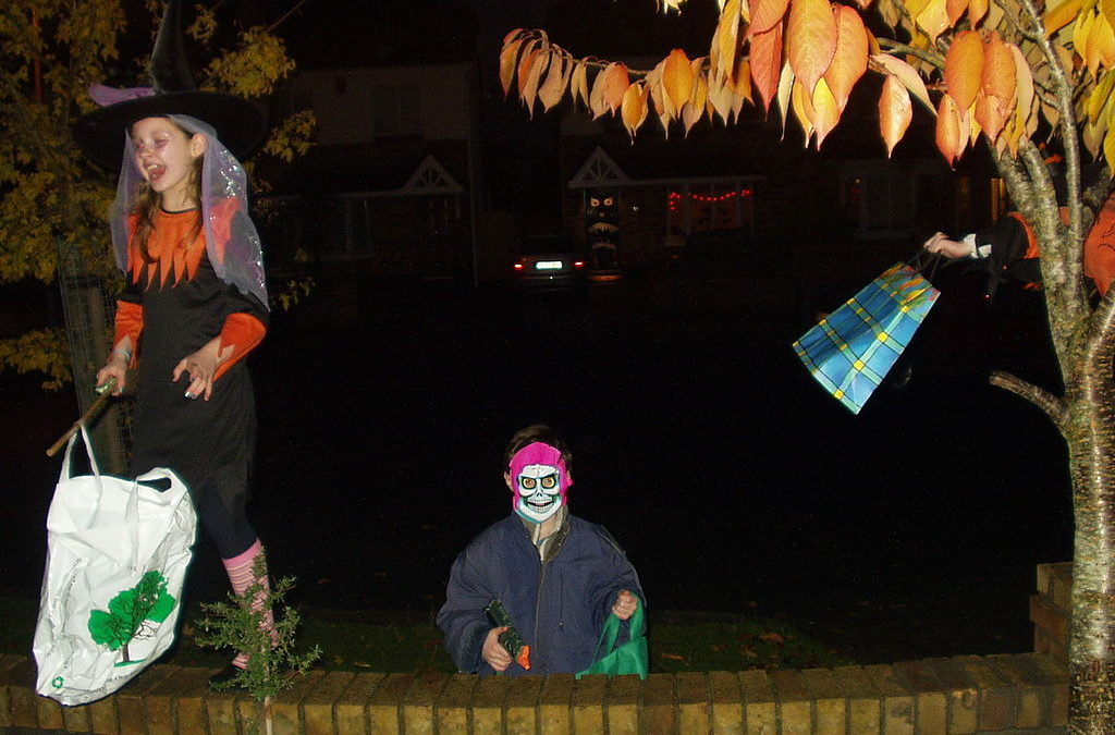 City Threatens To Fine Trick-Or-Treaters