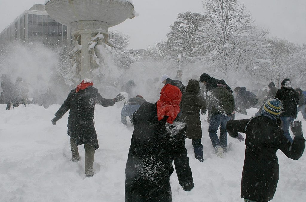 Ridiculous Law Banning Snowball Fights Overturned