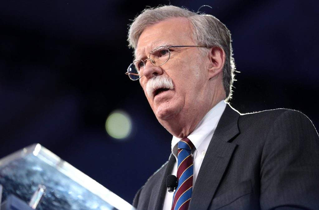 Here is John Bolton's File Full of Red Flags