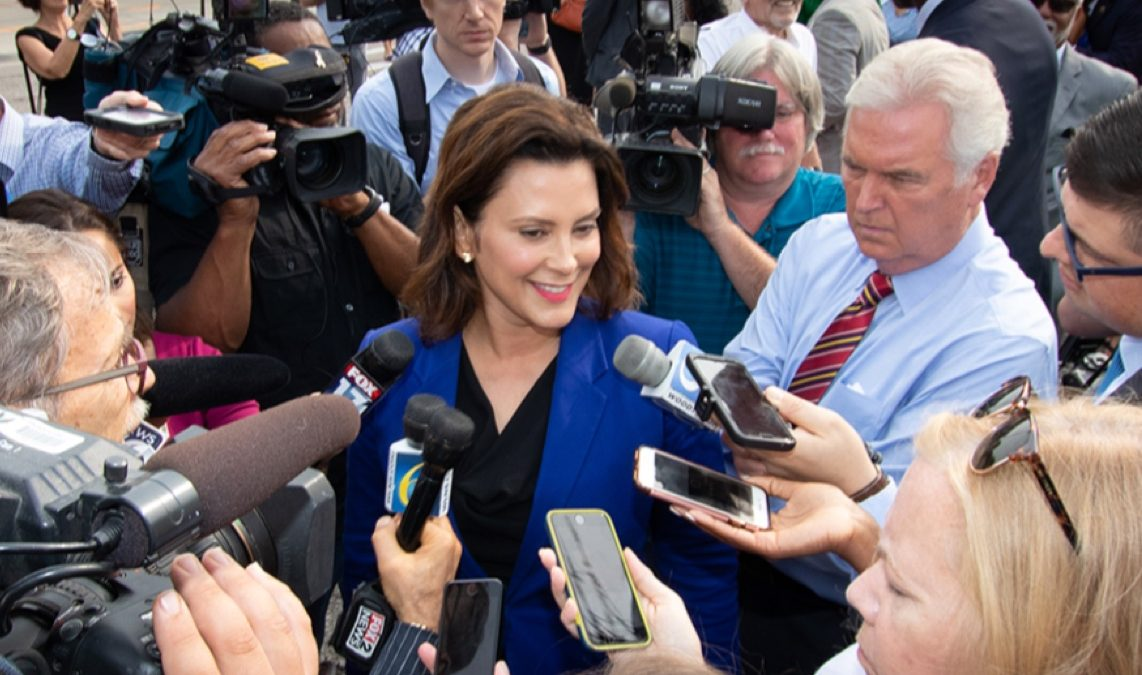 Michigan's Gov. Whitmer Issues Order Telling State Agencies to Enforce Her Earlier Orders