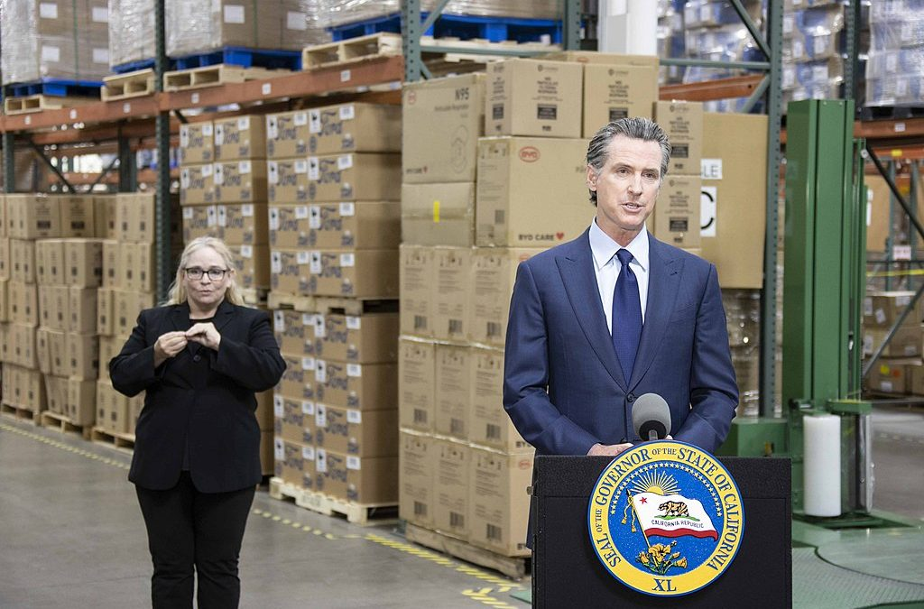 Newsom Comes Out Swinging Against Recall